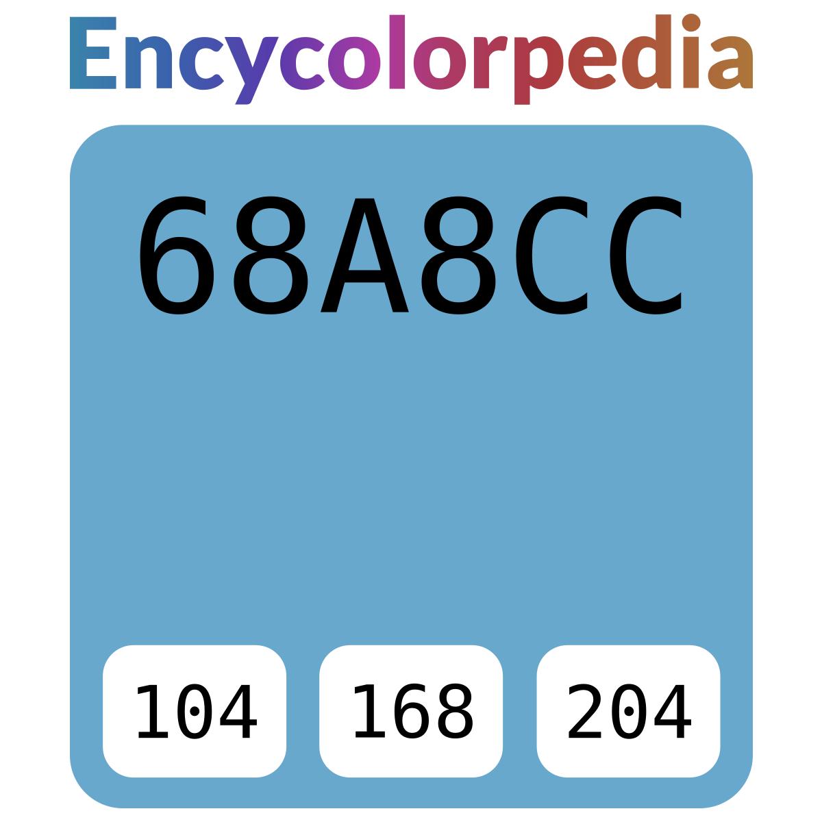 Caparol Iris 15 / #68a8cc Hex-Farbcode-Schemas, Farben